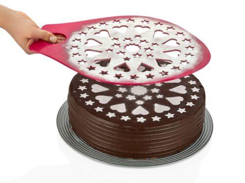Torta díszítő sablon