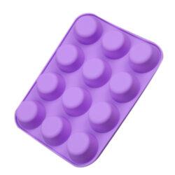 Szilikon muffin forma 12 részes 22x3x29cm
