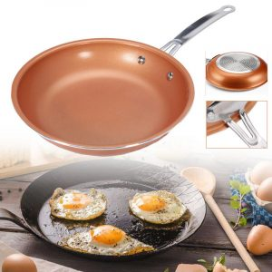 WOK HC kerámia bev. 30x8,5cm Copper Pro Happy Cooking RS-1254
