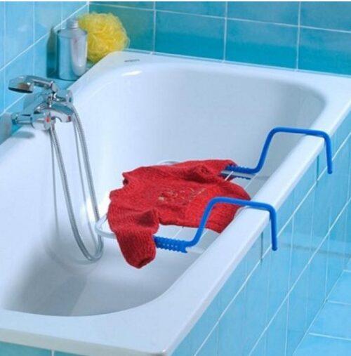 Ruhaszárító Quick (erk.,fürdő.,radiátor) 52x33x14cm 3m, max.5kg GIMI
