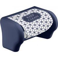 WC papír tartó fali dekoros 16,5×11,5×11,5cm, KEEP