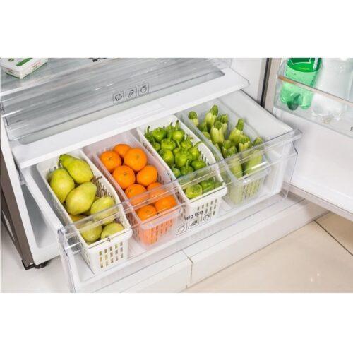 Rendszerező hűtőbe 4,3L BA-685, fehér, áttetsző