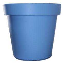 Kaspó, műanyag, 25cm, pasztell kék KIF