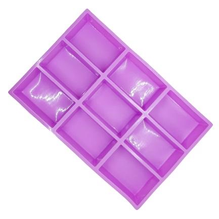 Szilikon sütőforma, szappanforma 9r. 21×3×31,5cm, téglalap