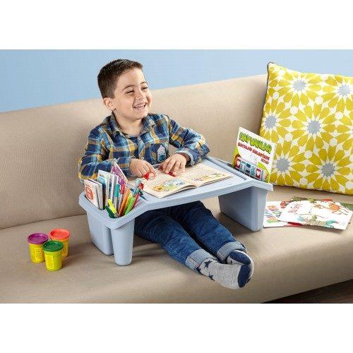 Gyerek asztal 53x30x21cm HOBBY CANDY 6122, kék