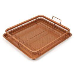Sütőtepsi ráccsal (2 részes) szett, Copper Pro RS-1145, Happy Cooking