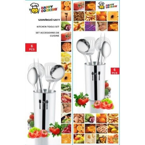 Szervírozó szett 5+1r. Happy Cooking DOBOZOS RM RS-1281
