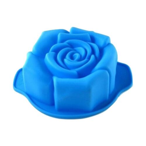 Szilikon rózsa forma 15,5x10,5x5cm, MIDI