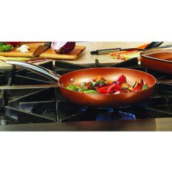 Serpenyő HC kerámia bev. 26x4,8cm Copper Pro Happy Cooking RS-1253