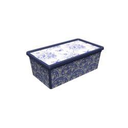 Tároló doboz Q 10L 26x37x14cm PORCELÁN L