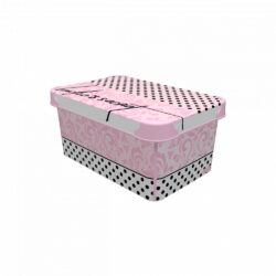 Tároló doboz Q 5,0L 19x28,5x13,5cm LADY'S SECRET M