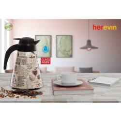 Termosz 1,2L vákuumos Kúpus Coffee /világos/ 161704-008