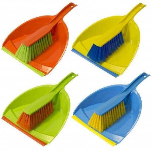 Szemeteslapát gumi éllel kefével Happy Cleaning RS-1148