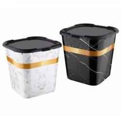 Tároló doboz A tetővel márványos 422 KIF