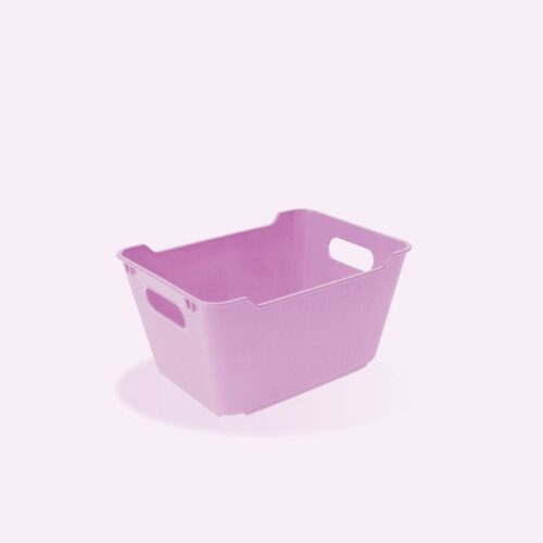 Tároló doboz O füllel 19,5x14x10cm 1,8L LOTTA LILA 1091050