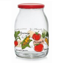 Befőttes üveg VEGETABLES 1,0L M88720