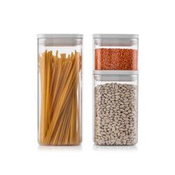 Fűszertartó szilikonos D 1,4L 10,5x10,5x16,7cm Chef 31151