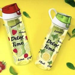 Infuser palack 0,65L Fruit Citrom-Detox 161558-001