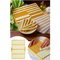 Kiszúró rács 26 részes 24x33cm sós pálcika, sajtos rúd