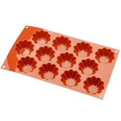 Szilikon forma Mini briós 12 részes 30x17x2,5cm
