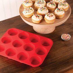 Szilikon muffin forma 12 részes 22x3x29cm 10