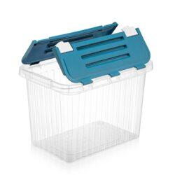 Tároló doboz átlátszó 26L 29,6x43,5x30,0cm Split 20041
