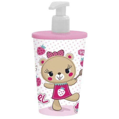 Folyékony szappanadagoló Rózsaszín maci 161268-004