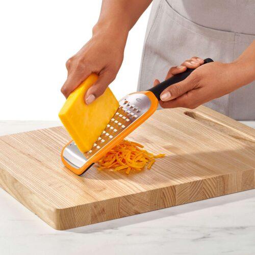 Sajtreszelő nyeles nagy lyukú extra éles Happy Cooking RM RS-1300