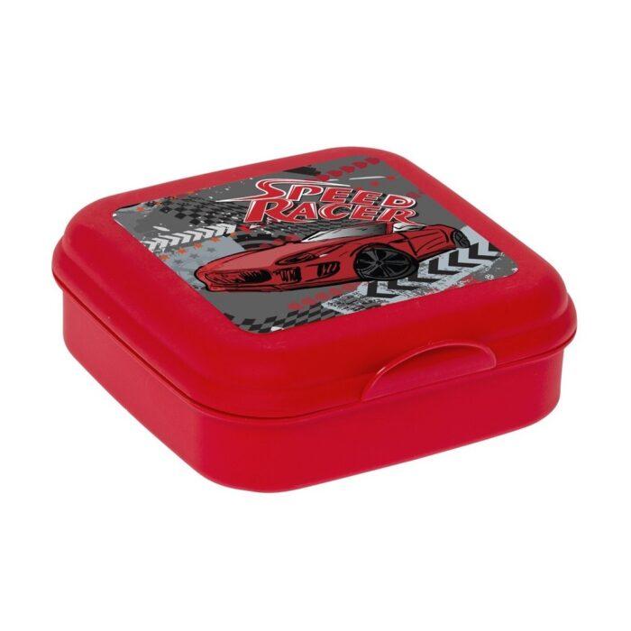 Uzsonnás doboz kicsi Cars piros 161457-002