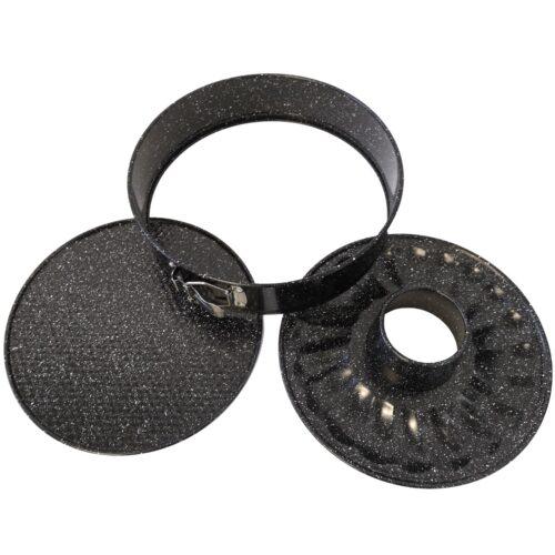 Tortaforma gránit bev. kör alakú csatos 26x6,8cm RL-SP26