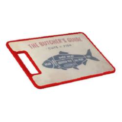 Vágódeszka dekoros Fish 161077-006